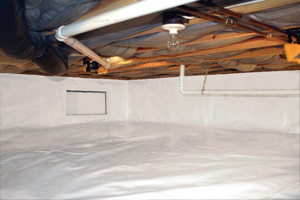 Crawl Space Repair After in Utica