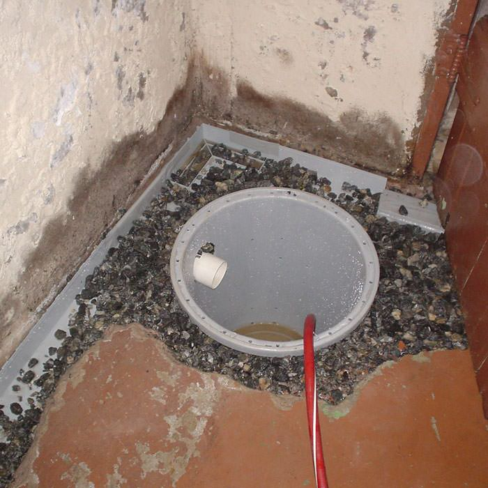 Perfect Installing A Sump In A Sump Pump Liner In A Rome Home