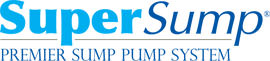 Logo for our SuperSump® Pump System, available in Cicero and other parts of New York