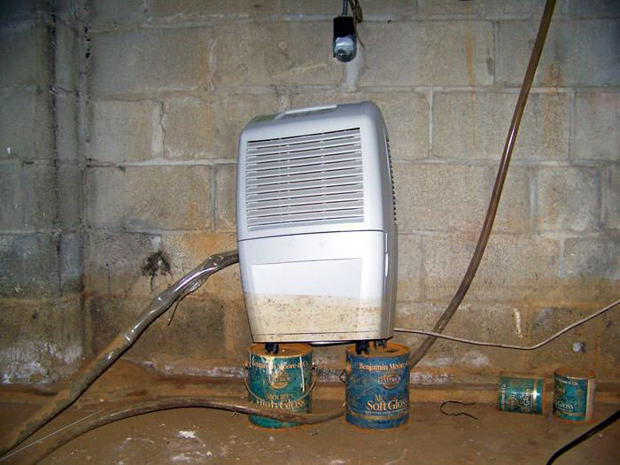 Crawl Space Dehumidification System In Syracuse Utica