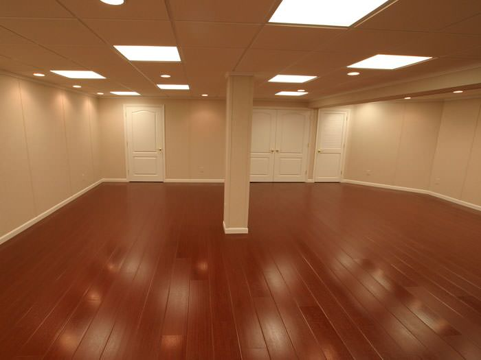 Rosewood Faux Wood Basement Flooring For Finished Basements In Syracuse ...