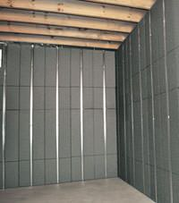 Thermal insulation panels for basement finishing in Rome, New York